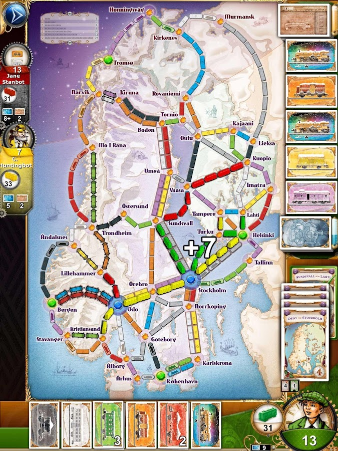 Ticket to Ride Screenshot 7
