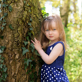 A hug for the tree by Love Time - Babies & Children Child Portraits ( child, girl, nature, tree, hug, outdoors, cute, spring )