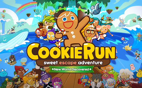LINE COOKIE RUN apk screenshot