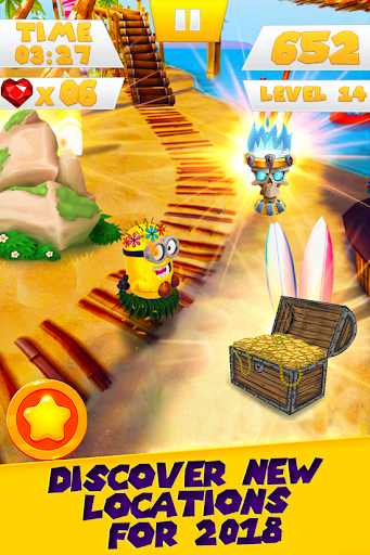 Banana Minion Rush Legends : Adventure 3D For PC