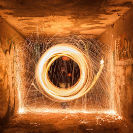 Ring of Fire by Ivan Tomaš - Abstract Light Painting