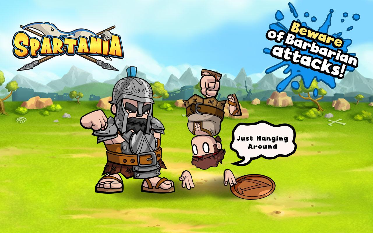 Spartania: Casual Strategy Screenshot 3