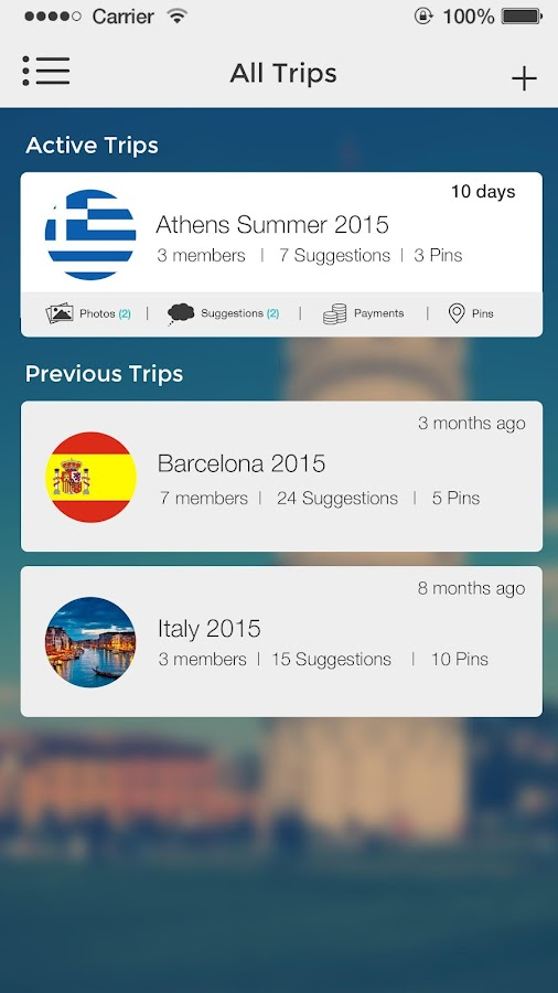 GrupTrip Screenshot