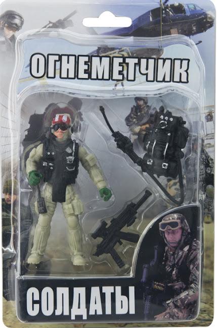 "Фигурка ""Солдатики"" в ассортименте блистер"