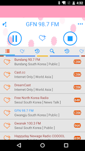 Radio South Korea - screenshot