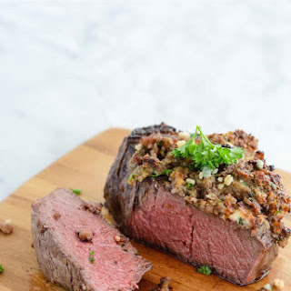 Blue Cheese Crusted Filet