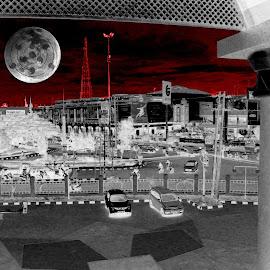 Mugen No Tsukiyomi by Muhammad Muhtarom - Digital Art Places