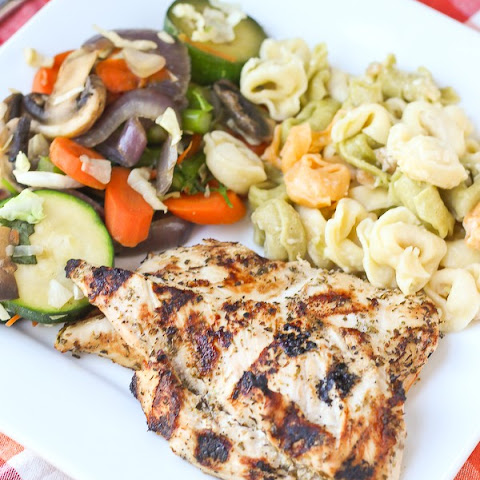 Greek Style Chicken Marinade - perfect for grilling!