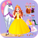 White Horse Princess Dress Up file APK Free for PC, smart TV Download