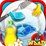 Princess Dish Washing-Cleanup Apk