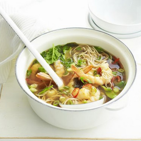 Prawn And Shiitake Miso Soup