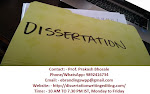 Dissertation Editing Business in Bhopal