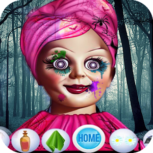 Scary Girl Dressup Game