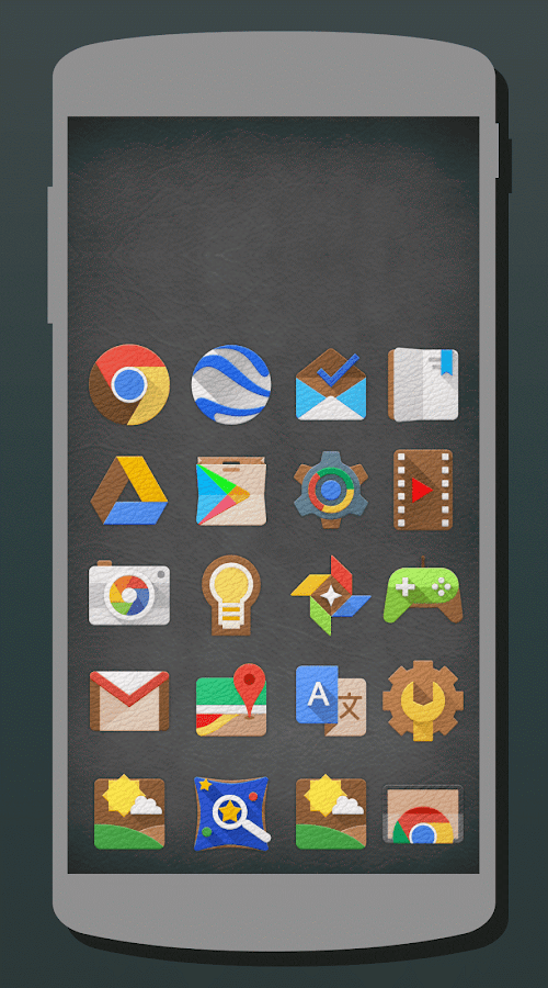 LeatherEx Icon Pack Screenshot 1