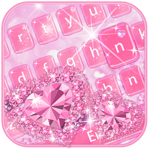 Download Love Diamond Keyboard Theme For PC Windows and Mac