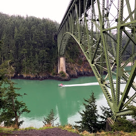 Deception pass bridge  by Melissa Fulmer - Instagram & Mobile iPhone