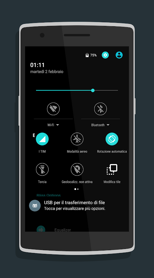 Material Dark CM13/CM12.1 Screenshot 9