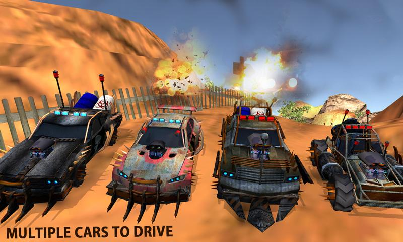 Buggy Car Race: Death Racing Screenshot 1
