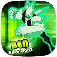 ? Ben Alien Fight: DiamondHeat Attack