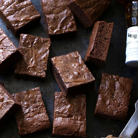 Bourbon Brown Sugar Brownies