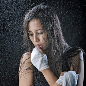 ladies fighter by M Salim Bhayangkara - People Portraits of Women ( boxing, women )