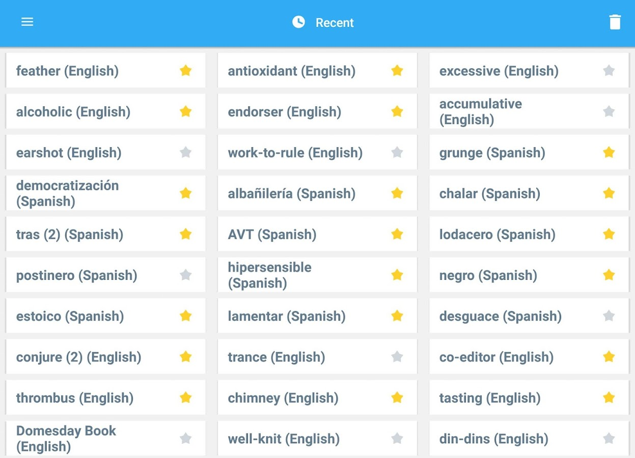 Collins Spanish Complete Dictionary Screenshot 14