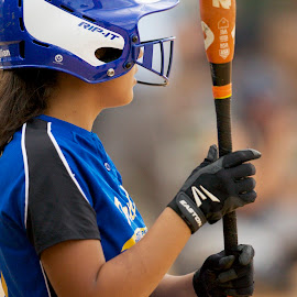 Softball by Jack Goras - Sports & Fitness Baseball ( baseball, batting, florida, softball, orlando )
