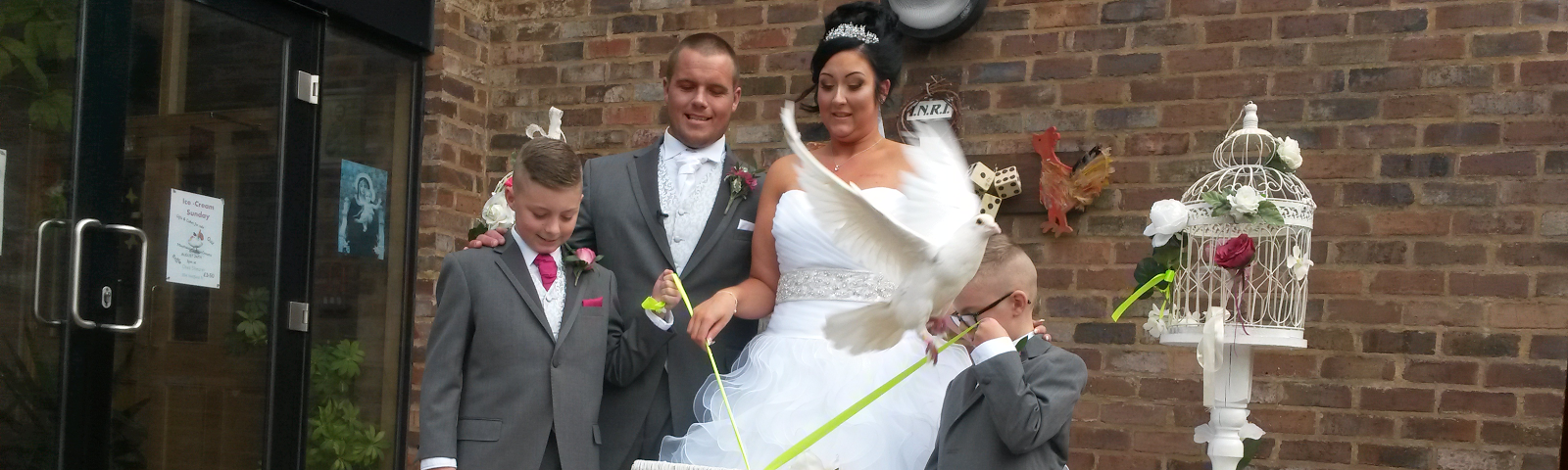 White Dove Release for Weddings in Liverpool