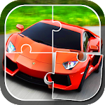 Cars Jigsaw Puzzle Game Icon
