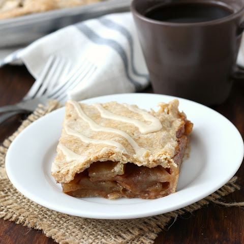 Maple Glazed Apple Pan Pie