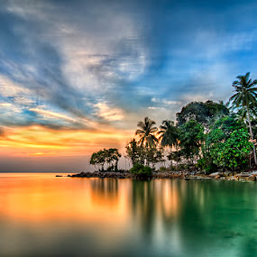 by Partha Roy - Landscapes Waterscapes