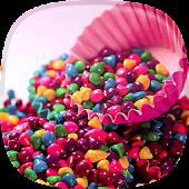 Süßigkeiten Live Hintergrund