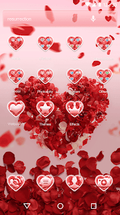 Valentine Love Launcher Theme Screenshot