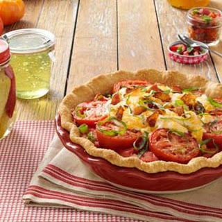 Fresh Tomato Pie Taste Of Home Recipes