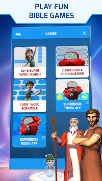 Superbook Bible, Video & Games APK screenshot thumbnail 7