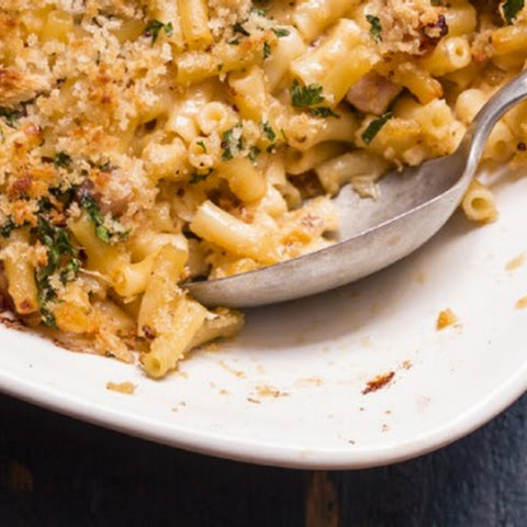 Frank Camorra's macaroni and cheese