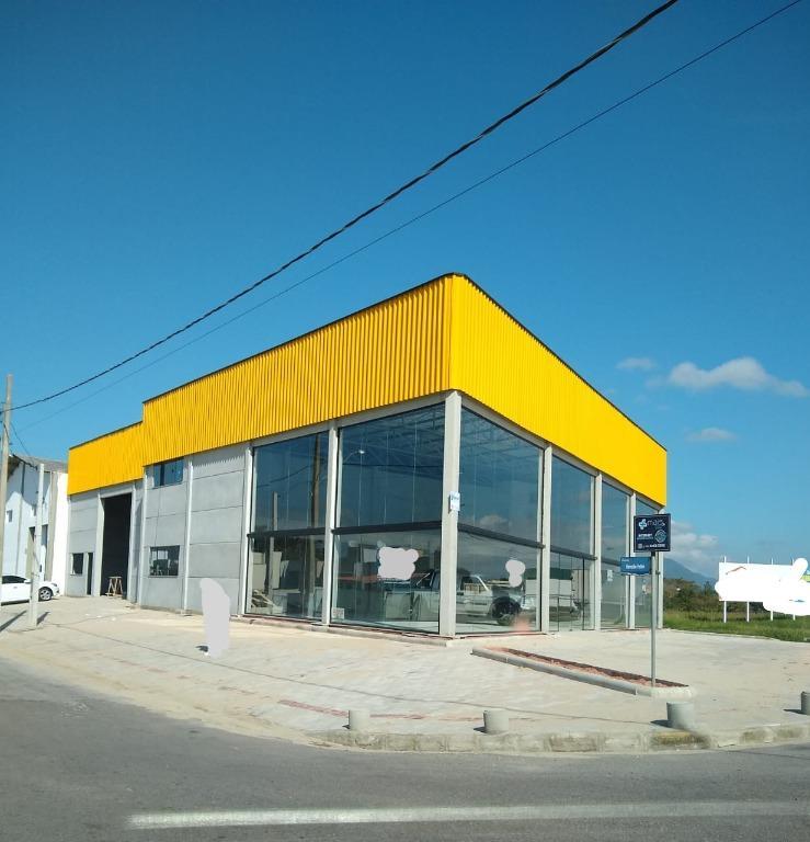 Galpão para alugar, 640 m² por R$ 5.500,00/mês - Joaia - Tijucas/SC
