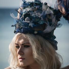 Mermaid by Kine Akasi - People Portraits of Women