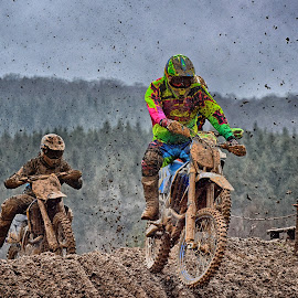 Clumpy Rain ! by Marco Bertamé - Sports & Fitness Motorsports ( mud, motocross, speed, clumps, race, noise )