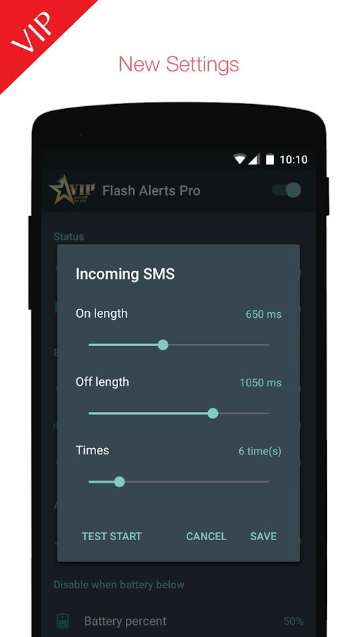 Flash Alerts PREMIUM Screenshot 2