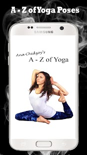 Ana Chidzoy's A - Z of Yoga Fitness app screenshot for Android