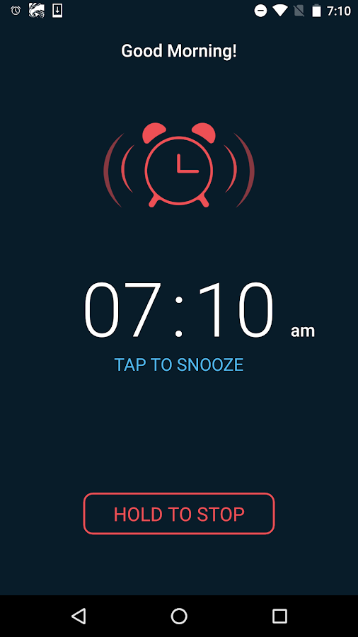 Good Morning Alarm Clock Pro Screenshot 6