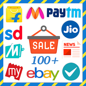 All in One Online Shopping apps Icon