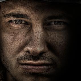 self portrait by Balázs Kovács - People Portraits of Men ( portait men )