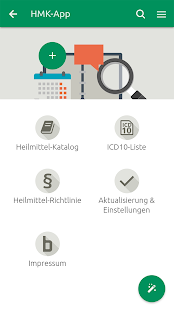 Heilmittel-Katalog screenshot for Android