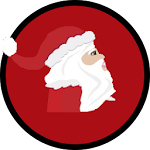 Santa's Midnight Present Run Icon