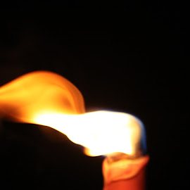 Candle in the wind by Monica Hayden-Carroll - Novices Only Objects & Still Life ( wind, candle, flame )