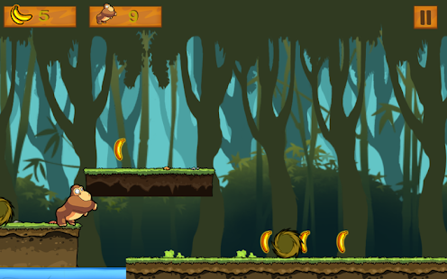 Monkey Running Game - screenshot