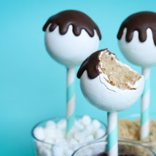 Graham Cracker Cake Pop
