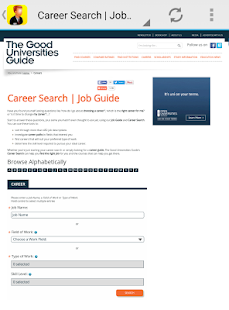 job search - usa jobs - screenshot
